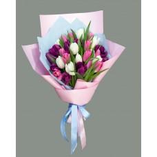 Букет из тюльпанов Т4