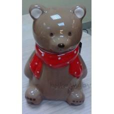Сувенир копилка медведь