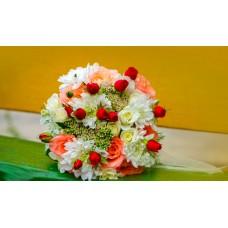 Букет  свадебный Санни