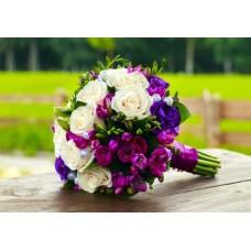 Букет  свадебный Солярис