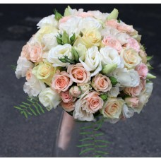 Букет  свадебный Кремовый
