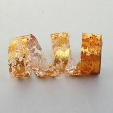 Лента упаковочная золотого цвета